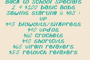 Photo #4: $75 sew ins and $65 bobs quick weaves