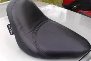 Photo #11: MOTORCYCLE SEAT UPHOLSTERY