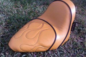 Photo #10: MOTORCYCLE SEAT UPHOLSTERY