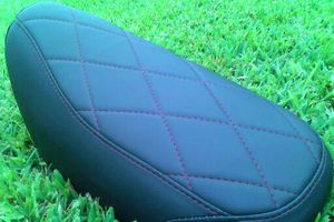 Photo #4: MOTORCYCLE SEAT UPHOLSTERY