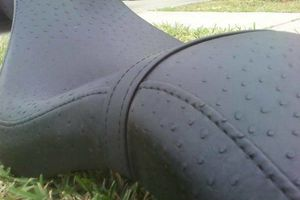 Photo #2: MOTORCYCLE SEAT UPHOLSTERY