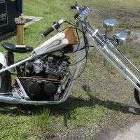 Photo #5: Old skool Custom choppers...