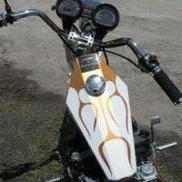 Photo #4: Old skool Custom choppers...