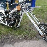 Photo #1: Old skool Custom choppers...