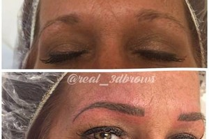 Photo #7: CELEBRITY BROWS! REAL 3D BROWS!