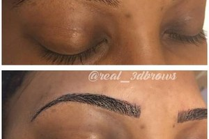 Photo #6: CELEBRITY BROWS! REAL 3D BROWS!