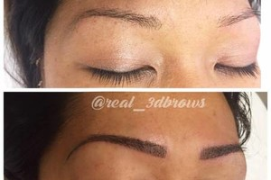 Photo #5: CELEBRITY BROWS! REAL 3D BROWS!