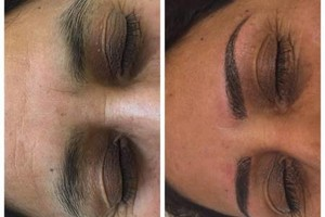 Photo #4: CELEBRITY BROWS! REAL 3D BROWS!
