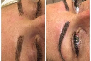 Photo #3: CELEBRITY BROWS! REAL 3D BROWS!