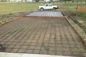 Photo #1: CONCRETE DRIVEWAYS & SLABS. ALL TYPES of CONCRETE FINISHES