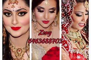 Photo #1: Now booking for bridal makeup and hair styling service