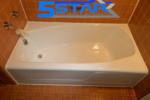 Photo #1: ONE DAY PROCESS BATHTUB REGLAZING AND REFINISHING SERVICES