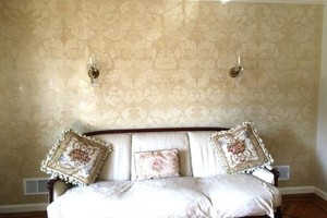 Photo #1: VENETIAN PLASTER / GLAZING / SHIMMER STONE / PAINTING / WALLPAPER