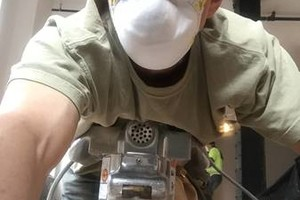 Photo #1: Hard wood floor sender