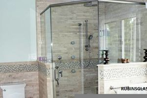 Photo #1: Frameless Shower Doors, Sliding Glass Doors, Glass replacement.