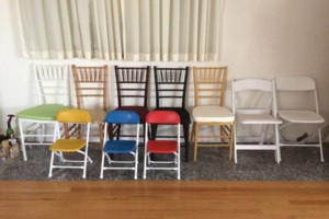 Photo #1: NYC CHAIR RENTALS