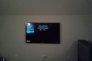 Photo #1: TV Mounting $40* 7 days a wk early or late-Same Day Install