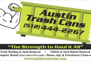 Photo #1: Need a dumpster? Have a shed or house that needs stuff hauled off?