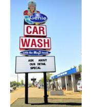 Logo Genie Car Wash