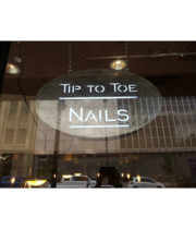 Logo Tip to Toe Nails