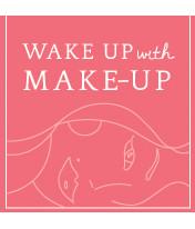 Logo Wake Up With Make-Up