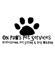 Logo On Paws Pet Services