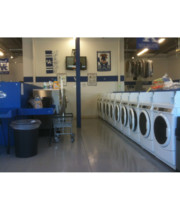 Logo Soaps and Suds Laundromat