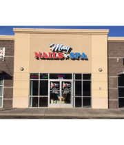 Logo May Nails and Spa Salon