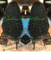 Logo So Blessed Natural Hair Care