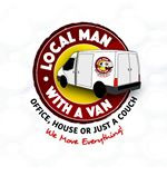 Logo Local Man with a Van