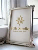 "Logo SGH Studio ""Sunshine Glam' Hair"""