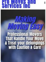 Logo Pro Moves and Services, Inc