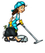 Logo Susan & Jeannette Cleaning Services