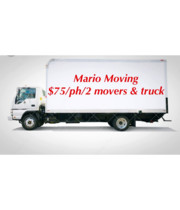 Logo Mario Moving