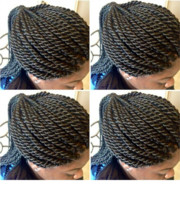Logo United African hair braiding