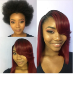 Logo HAIR BY KARMA BLACK ( SEW IN & QUICK WEAVE)