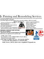Logo Jc painting and remodeling