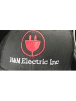Logo H&M Electric, inc