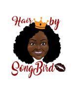 Logo Hair By Song Bird, LLC