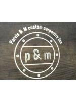 Logo Parvis & M Custom Carpentry