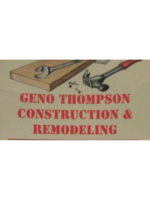Logo Geno Thompson Construction and Remodeling