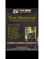 Logo Five star tree service