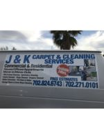 Logo J & K Carpet and cleaning services