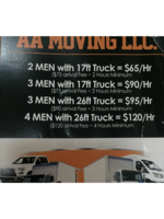 Logo AA Moving LLC
