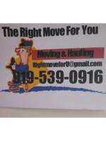 Logo THE RIGHT MOVE
