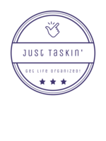 Logo Just Taskin' Home Organizer