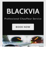Logo BLACKVIA LIMOUSINE COMPANY