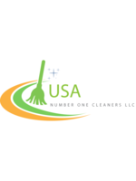 Logo USA Number ONE Cleaners, llc