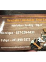Logo Revolution hardwood floors