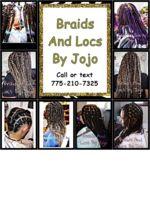 Logo Braids And Locs By Jojo